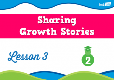 Sharing Growth Stories