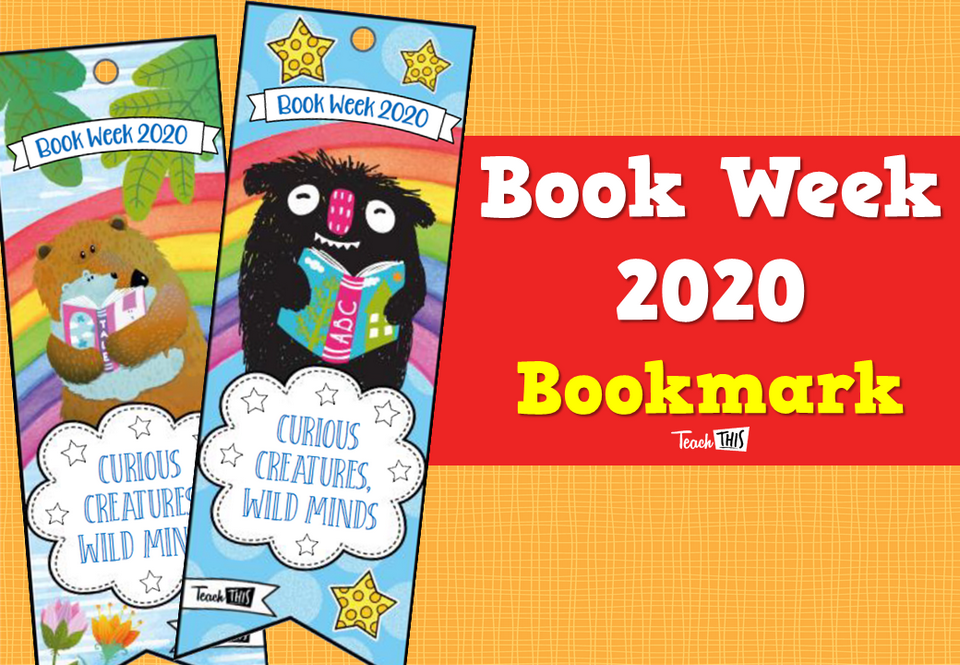 Book Week 2020 - Bookmark