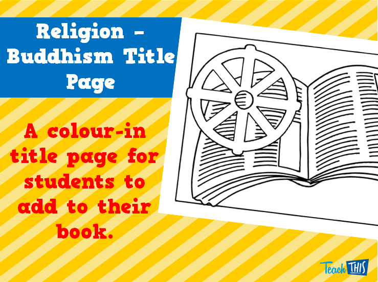Religion - Buddism Title Page