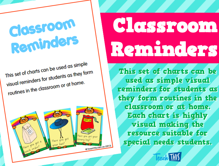 Classroom Reminders