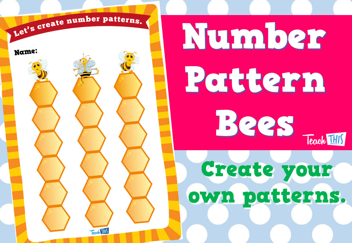 Number Pattern Bees