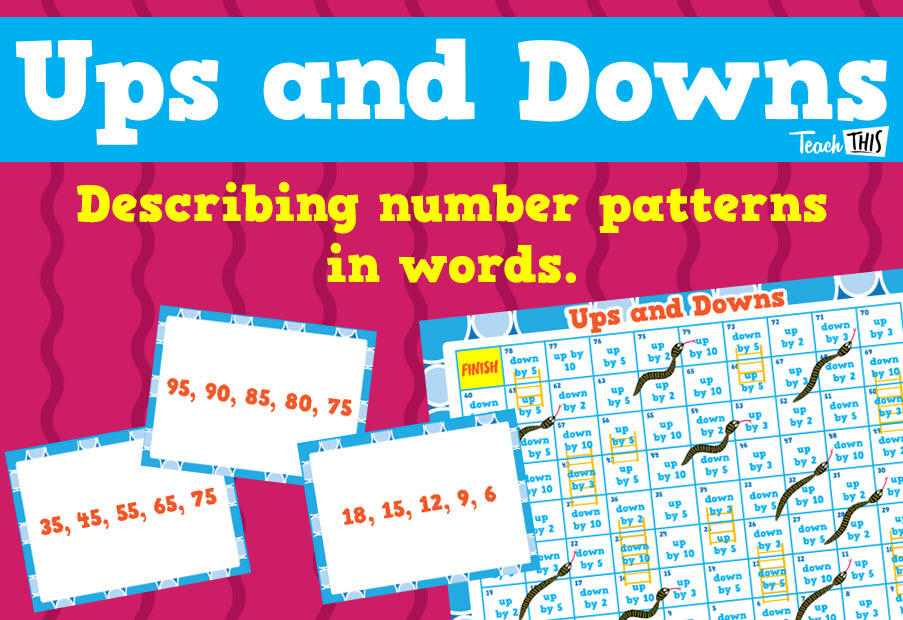 Ups and Downs - Identifying Number Patterns