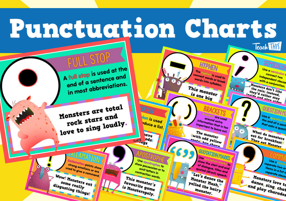 Punctuation Charts