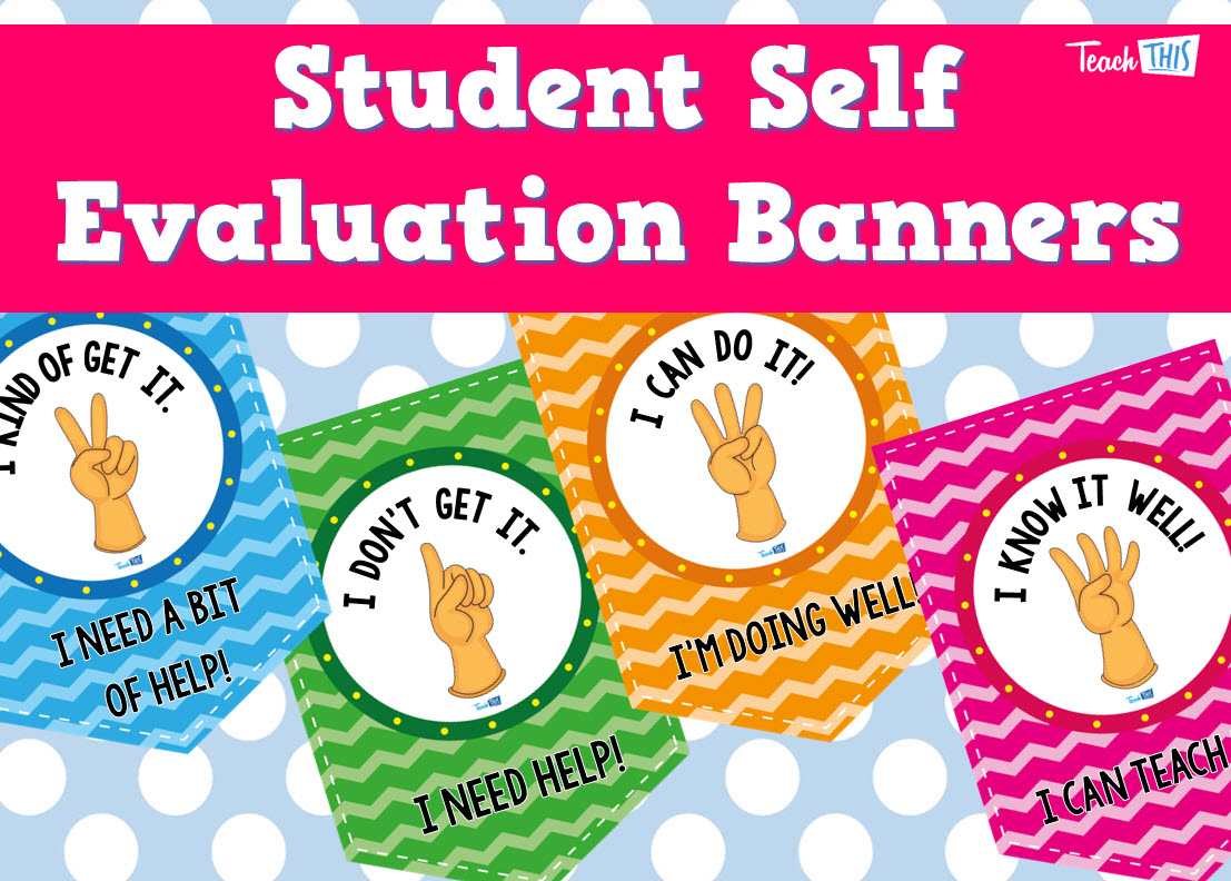 Student Self Evaluation Banners