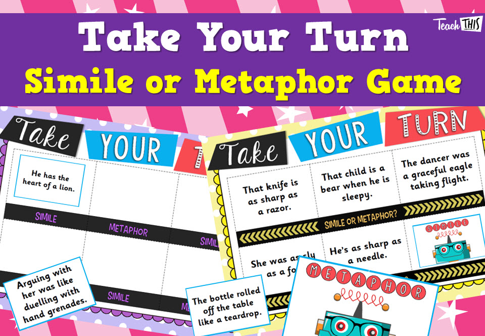 Take Your Turn - Metaphor, Simile