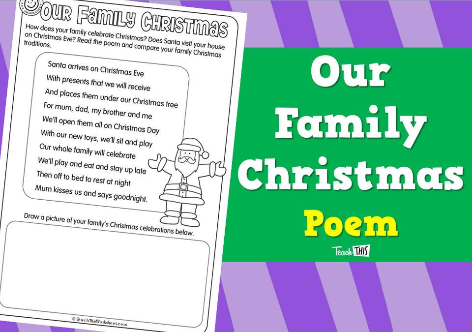 Our Family Christmas - Poem