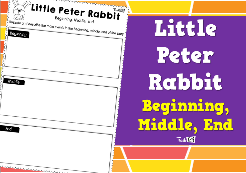 Little Peter Rabbit - Beginning, Middle, End