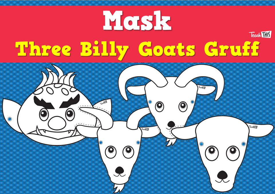 Mask - Three Billy Goats Gruff