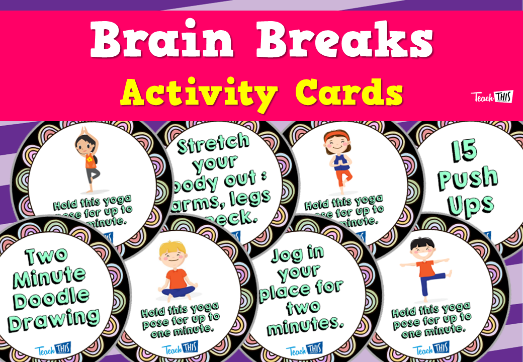 Brain Breaks - Activity Cards