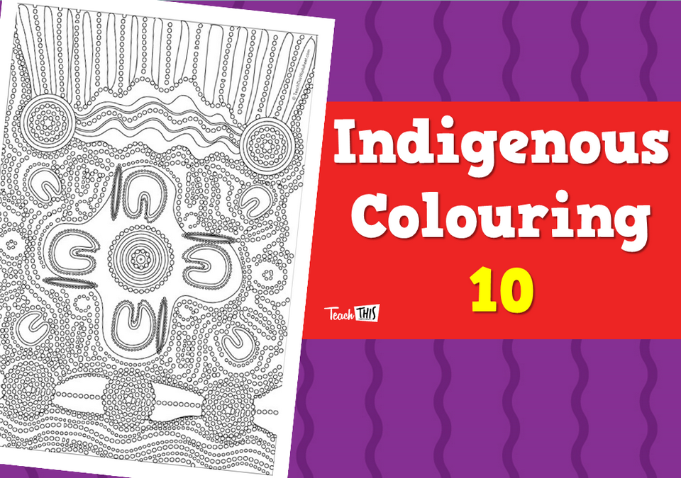 Indigenous Colouring 10