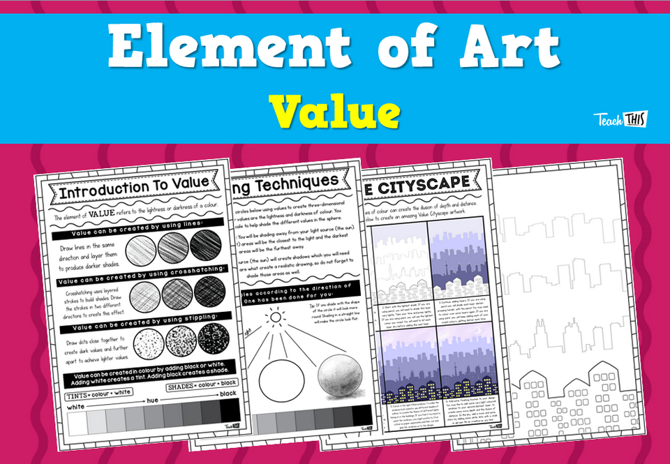 Elements of Art - Value