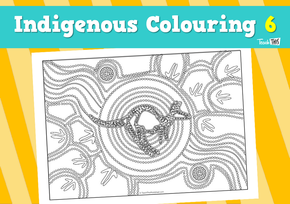 Indigenous Colouring 6