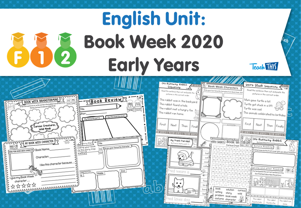 English Unit: Book Week 2020 - Early Years