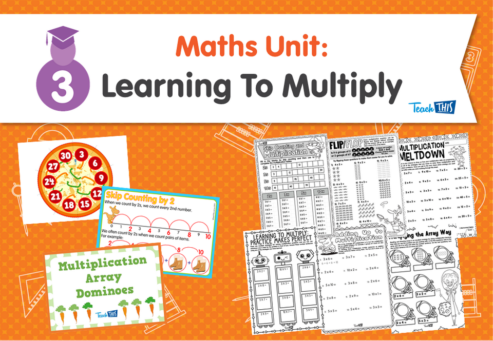 Maths Unit: Learning To Multiply