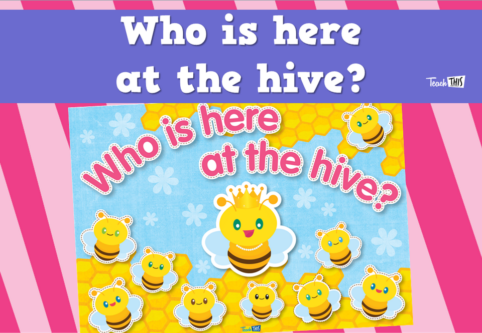 Who is  here at the hive?