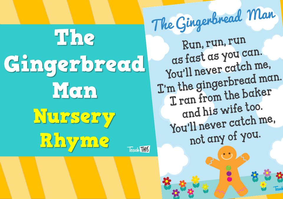 The Gingerbread Man - Nursery Rhyme