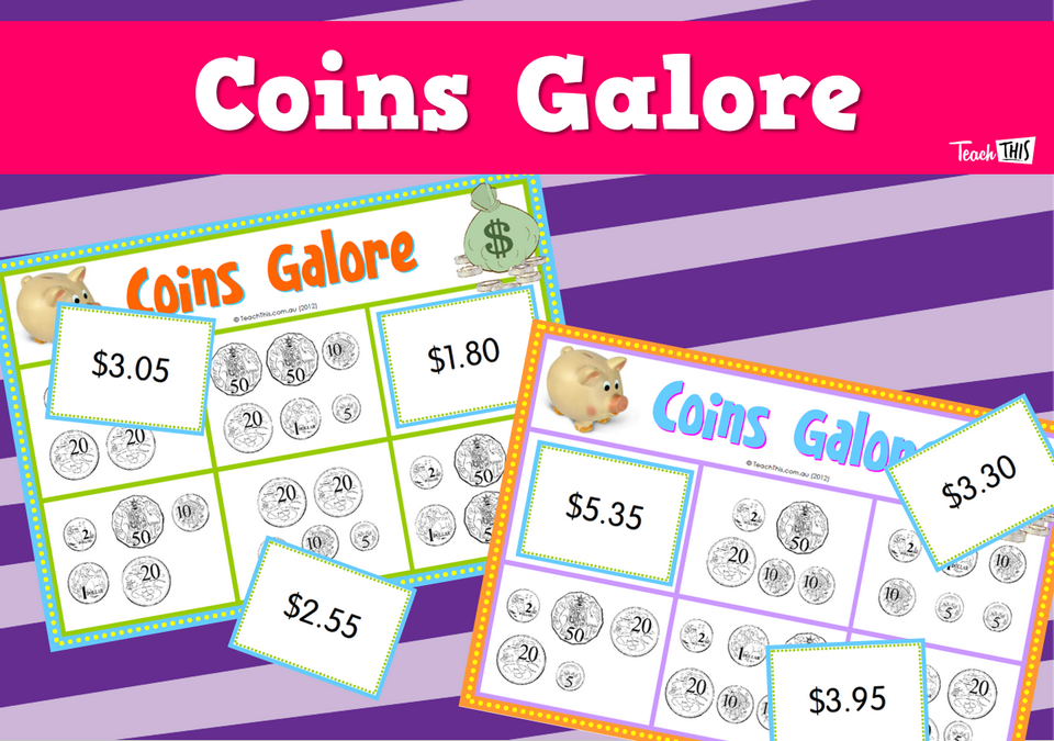 Coins Galore