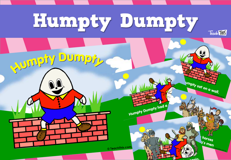 Humpty Dumpty - Visual Sequencing