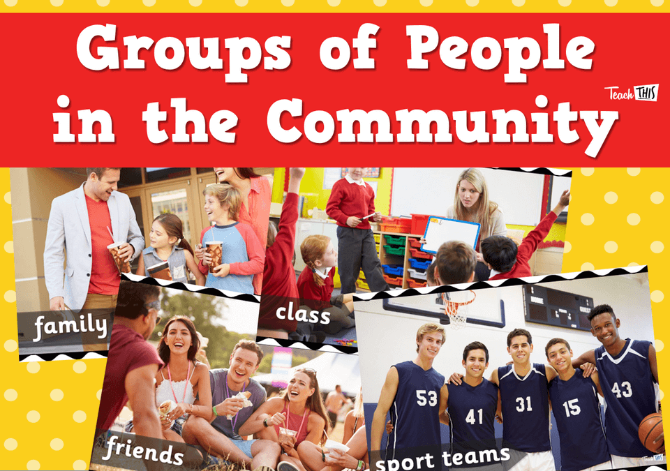 Groups Of People In The Community
