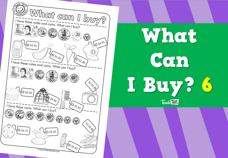What Can I Buy? 6