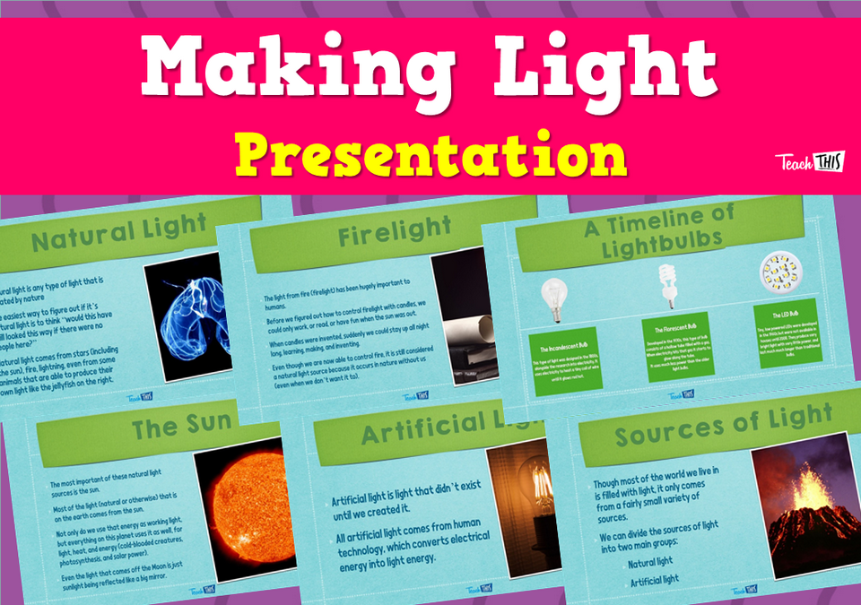 Making Light - Presentation