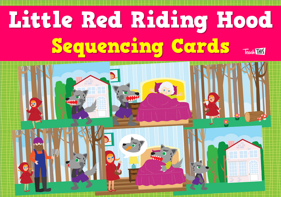 Little Red Riding Hood Sequencing Cards
