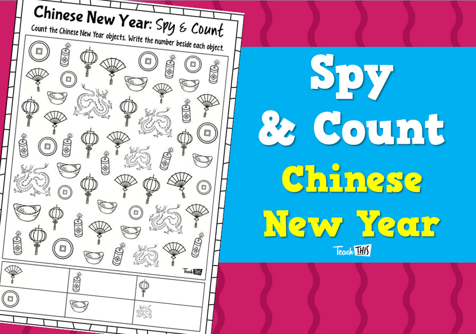 Spy & Count - Chinese New Year
