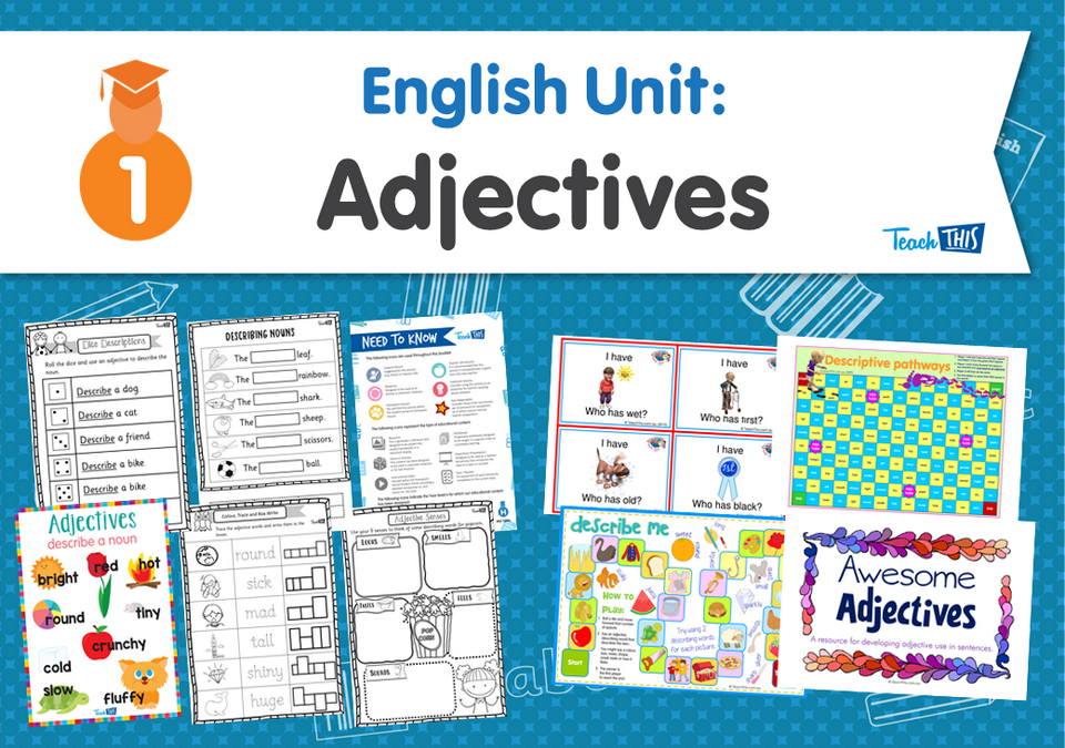 English Unit: Adjectives