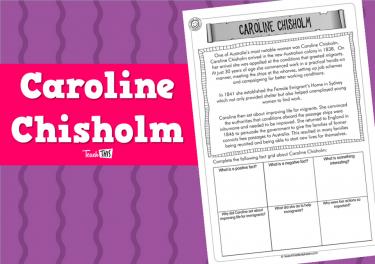 Caroline Chisholm (1pg)