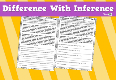 Difference With Inference