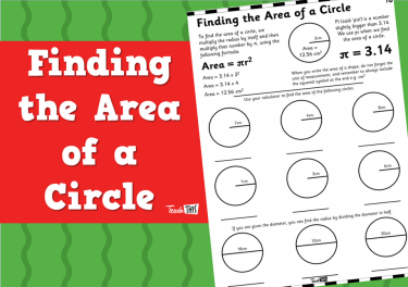 Finding the Area of a Circle