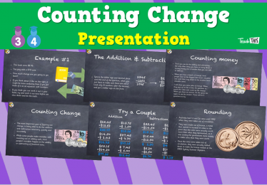 Counting Change - Presentation