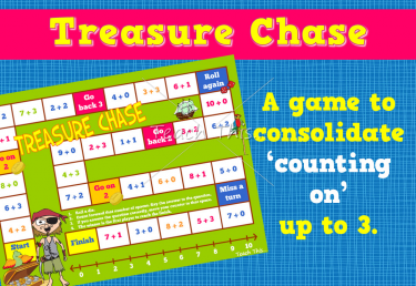 Treasure Chase - Counting On