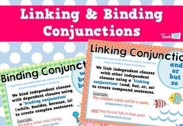 Linking and Binding Conjunctions
