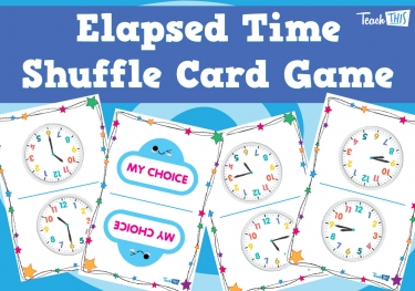 Elapsed Time Shuffle Card Game