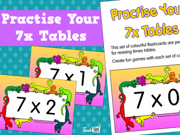 Practise Your 7x Tables