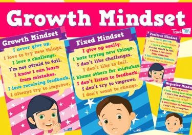 Positive and Negative Mindset Posters