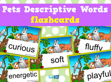 Pets Descriptive Words