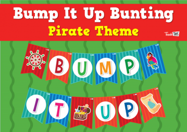 Bump It Up Bunting - Pirate Theme