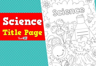 Title Page - Science