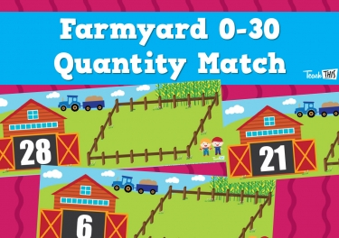 Farmyard 0-30 - Quantity Match