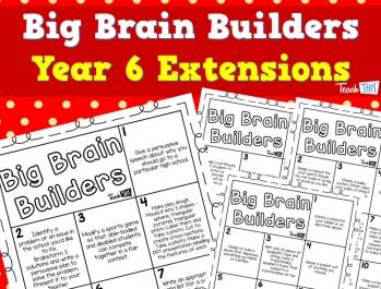 Big Brain Builders - Year 6 - Extensions