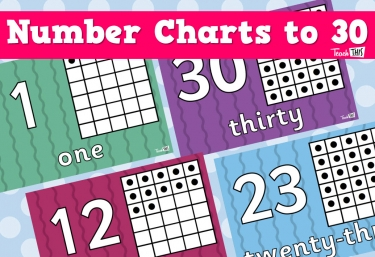 Number Charts To 30