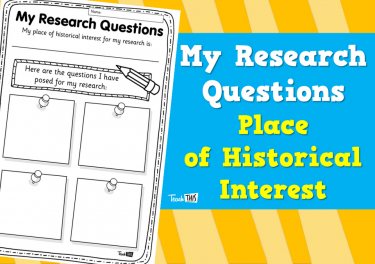 My Research Questions - Place of Historical Interest