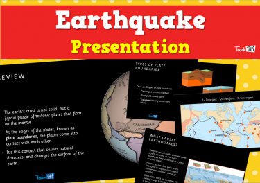Earthquakes - Presentation
