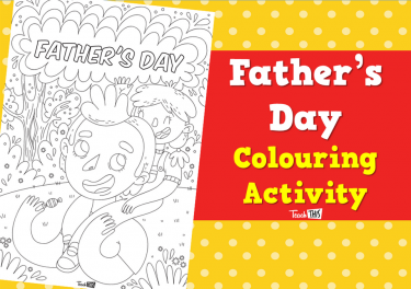 Father's Day - Colouring Activity