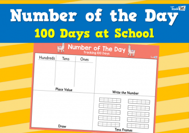 Number of the Day - 100 Days at School