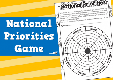 National Priorities Game