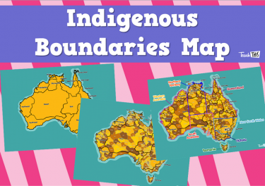 Indigenous Boundaries Map