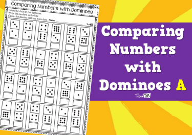 Comparing Numbers with Dominoes A